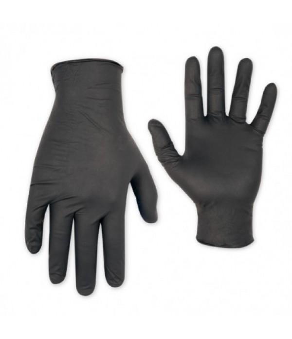 Manusi nitril negre -100 bucati/cutie