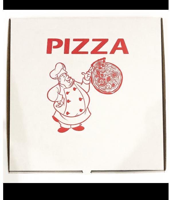 Cutie Pizza Alba 26cm -100 bucati/set