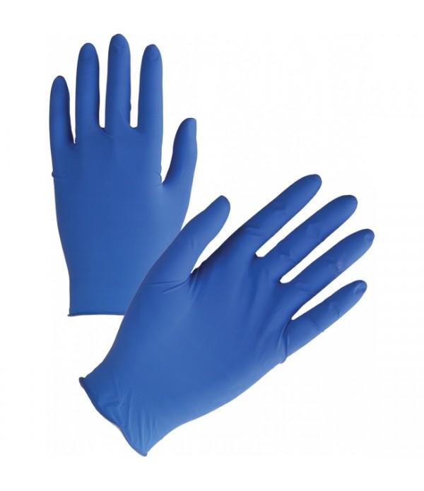 Manusi nitril albastre -100 bucati/cutie