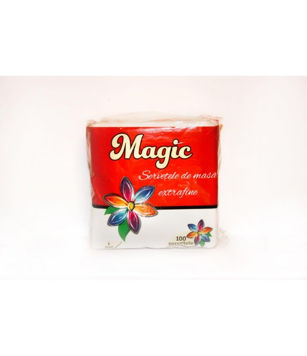 Servetele de masa Super Magic Albe -